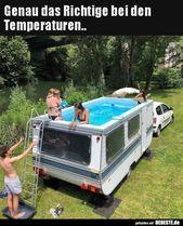 Genau das Richtige bei den Temperaturen.. | Lustig…