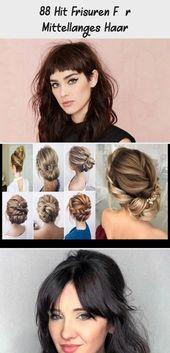 88 Hit Hairstyles For Medium Length Hair – DE