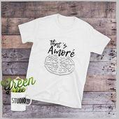 Das ist Amore Unisex Tee | Lustiges Pizza-T-Shirt | Dean Martin TShirt | Pizza-Liebhaber-T-Stück | Das ist Amore T-Shirt | Pizza Pie Tee | Für Männer oder Frauen