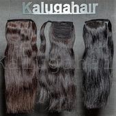 Hairpieces are a great and quick alternative to hair extensions. The strands are light and invisible in the hairstyle, increase the density and length...