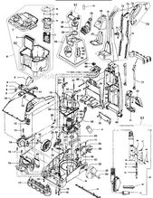 Hoover F5915 900 Parts List And Diagram