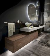 Stylish modern bathroom: 128 Best Designs Roundup www.futuristarchi … #bathroom #designs #futuristarchi #modern