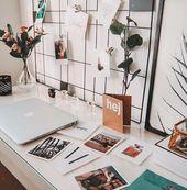 Set Wandgitter und Polaroid Bilder   – Random stuff