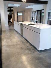 Top 50 der besten Ideen für Betonböden – Innenarchitektur für glatte Böden