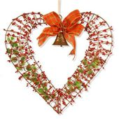National Tree Company 16 in. Valentine Heart Decor RAV-15549AX16 - The Home Depot