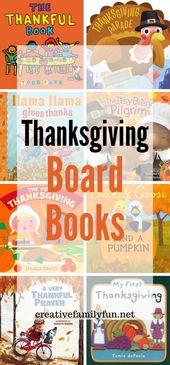 Thanksgiving Board Bücher für Kleinkinder – Thanksgiving for Kids