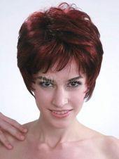 Mode Perücke Neu Sexy Damen Kurz Rot Braun Wie Echthaar Natural Haar Perücken#Sexy#Damen#Kurz –  – #Kurzhaarfrisuren –  – #Kurzhaarfrisuren –  -…