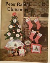 Oop Beatrix Potter Peter Rabbit Christmas Cross Stitch Charts Patterns Vintage Christmas Cross Stitch Christmas Cross Cross Stitch Patterns Christmas