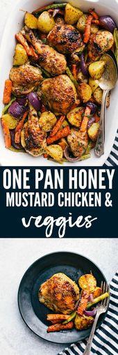 One Pan Honey Mustard Chicken and Veggies   The Recipe Critic