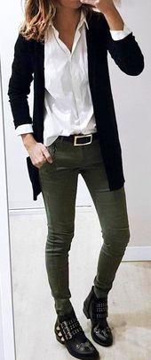 Lieben Sie dort weiche, leichte klassische Strickjacken   – Outfit Inspiration