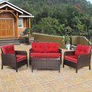 patio walmart com rattan furniture