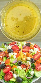 Greek Salad Dressing – COOKTORIA'S VIDEO RECIPES