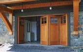 accordion folding garage door - Google Search
