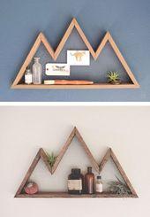 DIY Holz Wanddekor, der Ihr Zuhause in einem Augenblick gemütlich machen wird – DIY und Selber Machen Holz