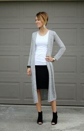 68+ trendy skirt with boots for work cardigans