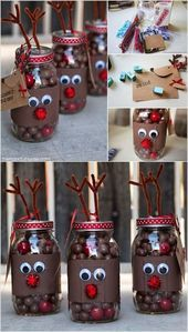 25 attractive mason jar Christmas ideas that are trendy this season – #Attract …..   – Best Crafts