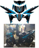 Jual Decal New Mio Soul Gt 125 Blue Core Di Lapak Cloud Graphic Design Background Templates Creative Resume Template Free Decal Sheets