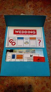Invitations  kreative Einladungskarten gestalten Monopoly Design