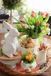 Farmhouse Model Easter Decor Concepts