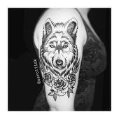 Tca Tattooentfernung? Wolf & Rosen. Tätowierer Renan Pereira. Hergestellt in Bia Reis ….