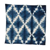 Gitterschnur #shibori #tiedye #pattern #folding #lattice #string
