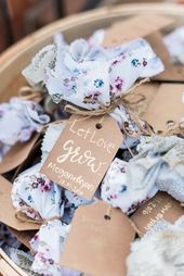 let love grow wedding favors