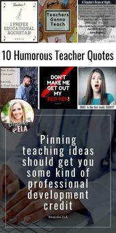 10 Humorous & Shareable Instructor Quotes — Bespoke ELA
