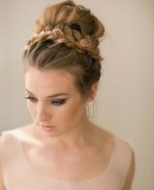Updos – the classically feminine look is making a big comeback