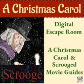 A Christmas Carol Bundle – Digital Escape Room Recreation and Film Viewing Guides