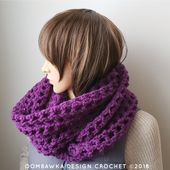 Comfort Me to Infinity Scarf. January Scarf of the Month Club CAL.