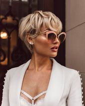 Kurzhaarschnitte 2019 für Frauen: Die besten Möglichkeiten, um auf dem Foto zu liegen – Kurz Haar Frisuren