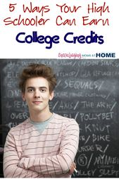 5 Methods for Excessive Schoolers to Earn School Credit score in Excessive Faculty