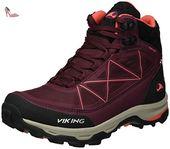 Anaconda BOA IV GTX, Chaussures de Randonnée Femmes - Violet - Violett (Grape/Fuchsia 4817), Taille 38 EUViking