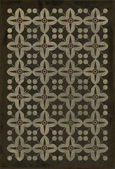 Vintage Vinyl Floor Cloth Pattern 19 Madame Curie Pura Vida Home