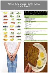 #Detox Diets 3 Days – Detox-Diäten – # – detox d – #Days #Detox # detoxdiäten …   – month-diet-plan