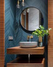 15 ideas bath room ideas modern dark powder rooms for 2019