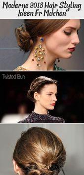 Modern 2018 Hair Styling Ideas For Girls