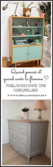 Relooking de meubles : quand poncer et quand avoir la flemme ?