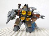 LEGO Bioshock Big Daddy & Kleine Schwester   – lego big daddy