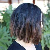 Frisuren für kurzes Haar #choppybobhairstyles
