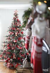 Photo of Wie man einen von Nostalgie inspirierten Weihnachtsbaum schmückt