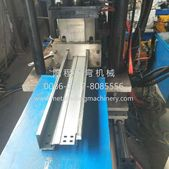 Yc Steel Door Frame Roll Forming Machine We Also Can Design The Machine Strictly According To Your Required Profile Shu Steel Doors Door Frame Roll Forming