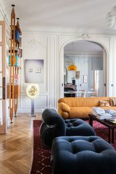 A Haussmannian salon in Paris