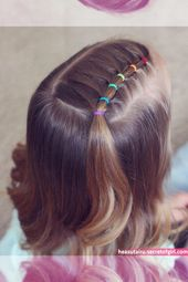 Pin on kids hairstyles    Every little girl should have her own sense of fashion…