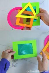 Simple DIY educational games for preschool kids, #simple # learning games #Toddlersandpreschoolers #v … – Sinnesspiele