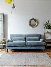 Mabel Velvet Sofa – Available in 27 Colours & 2 Sizes  – Home Projects