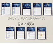 Baby Showers Twinkle Baby Shower Games Bundle Twinkle Twinkle Little Star Baby   Etsy