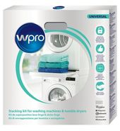 Kit De Superposition Wpro Kit Sks101 Universel Lave Linge Sec In 2020 Washing Machine Dryer Machine Washing Machine Dryer