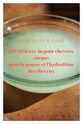 03 bricolage en laisse pour les cheveux crépus – # cheveux # enchevêtrés #DIY #leavein #Pour   – Yasmine