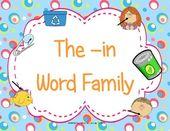 Die-in-Word-Familie – Wortfamilienaktivitäten – #Aktivitäten #die #Familie #inWo … – Best Family Ideen
